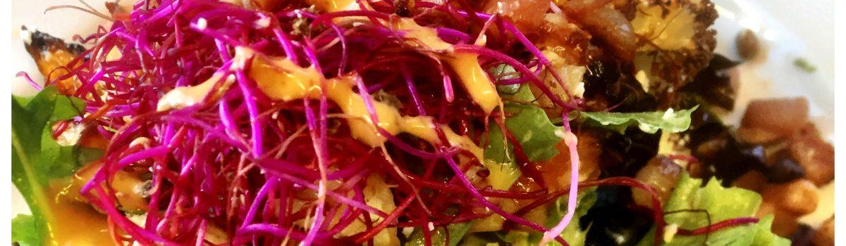 Wij waren uitgedaagd door Nieuwegein@work: wij zijn winnaar met het concept SOEP & SLA. Dit recept een salade van geroosterde wintergroenten is alvast een voorproefje.