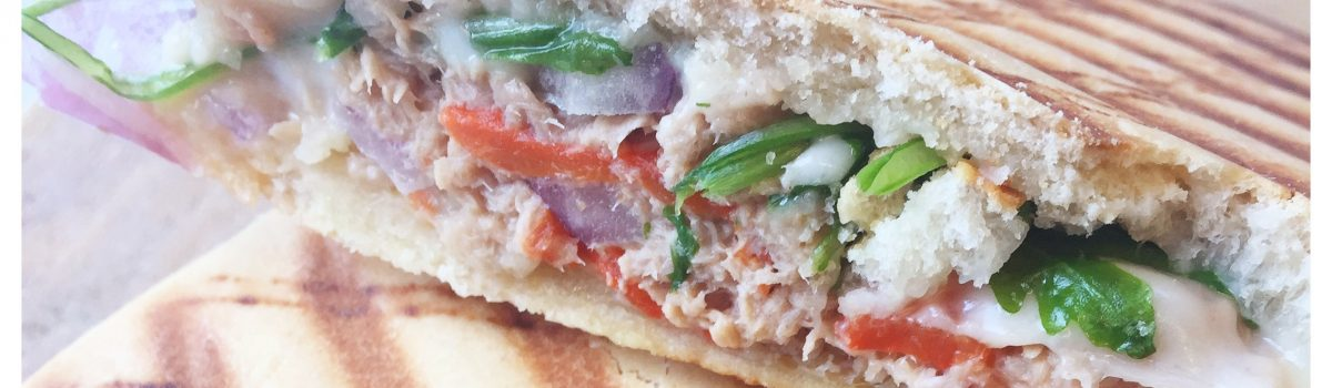 Recept Paninni: Tuna melt