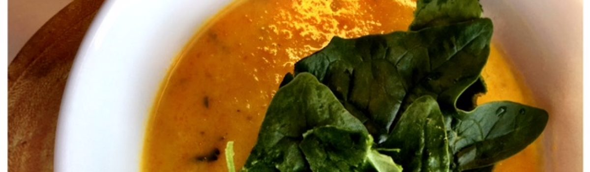 Pastinaak-wortel-gember soep